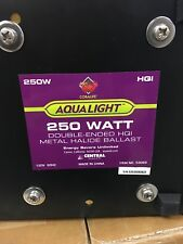 Coralife AQUALIGHT #53069 250 Watt Double-Ended HQI Metal Halide Ballast