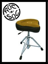 NEW! Roc n' Soc Nitro Rider Tan Original Drum Throne NR O-T