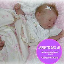 Sweet Jaden reborn kit~ Unpainted blank vinyl kit to make your own baby~ soldout