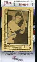 Richie Asburn JSA Coa Autograph 1983 Cramer Hand Signed