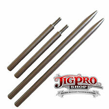 """(2) 5 1/4"""" 275#, 325#, 425# Stainless Paracord Fid, Stitching Needle w/Extension"""