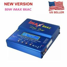 NEW B6AC 80W RC Lipo Lithium NiMh Digital Battery Balance Charger Discharge
