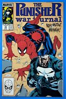 Punisher War Journal #15 Jim Lee Cover Art Marvel Comics 1990 Amazing Spider-Man