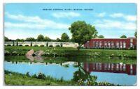 Sewage Disposal Plant, Marion, IN Postcard