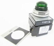New GE CR104PLG32GA2 120V Off Green Lens Transformer Pilot LIght NIB