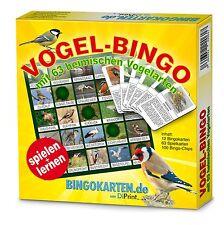 Vogel-Bingo ⏐ Spiel- und Lernspaß für die ganze Familie