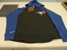Toronto Blue Jays New Logo MLB Baseball LS Raglan T Shirt Mitchell Ness XL