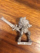 Chaos Champion Of Khorne Flesh Hound Metal Warhammer OOP