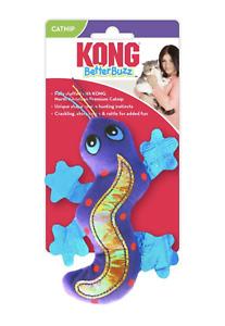 KONG Better Buzz Gecko Lizard Catnip Cat Toy