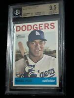 2013 Topps Heritage High Number Yasiel Puig Rc BGS 9.5 - Dodgers Rookie