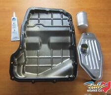 2010-2019 Dodge Jeep Ram Transmission Pan Fluid Filter & Sealer Kit Mopar OEM