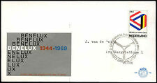 Netherlands 1969 Benelux Customs Union FDC First Day Cover #C27384