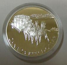 CANADA KANADA 1 DOLLAR 1992 175 JAHRE POSTKUTSCHENSCHLITTEN KINGSTON PFERDE PP