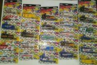 LOT OF 27 Racing Champions Racing Team NASCAR Die-Cast Transport & Mini Car 1:87