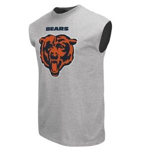 Chicago Bears Men's Sleeveless Shirt by Majestic Athletic