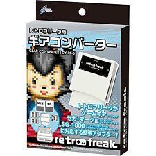 NEW RETRO FREAK GAME GEAR CONVERTER SEGA MARKIII SG-1000 My Card Master System