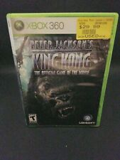 Peter jackson's king kong xbox 360 Complete Tested
