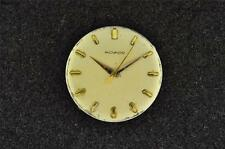 VINTAGE MENS MOVADO WRISTWATCH MOVEMENT CAL 1370 - RUNNING