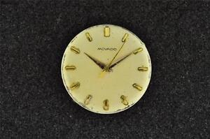 VINTAGE MENS MOVADO WRISTWATCH MOVEMENT CAL 127- RUNNING