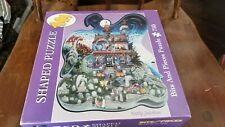 New Bits & Pieces 750pc Shaped Puzzle Kathy Jakobsen 2005 Boo! Witch Head