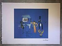 Jean-Michel Basquiat - Litografia - TDTPTB - 1988 - 250 ex. - 50x70