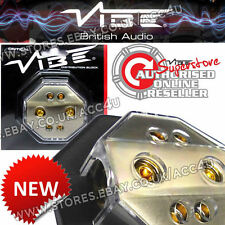 Vibe Audio DB6 12 V voiture non fondue 4 Voies Amplificateur Amp Power Distribution Block