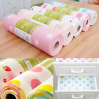 "Flower Shelf Sticker Paper Kitchen Table Cabinet Drawer Liner Wallpaper 12x118"""
