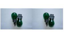 4x 3156 Green Bright S8 Miniature Light Bulb Car Signal Turn Back Up Lamp 12v