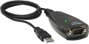 Tripp Lite Keyspan  USB-to-9-Pin Serial Adapter P/N USA 19HS With USB cable
