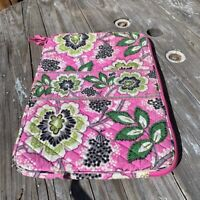 Vera Bradley Quilted 1/2 Zip Laptop Cover