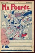 MA POUPEE 25è ANNEE N°277. DECEMBRE 1931 + SUPPLEMENT.