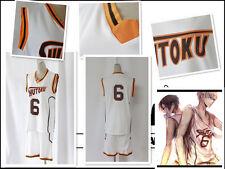 Kuroko no Basuke Cosplay Costume Shintaroo Midorima shutoku jersey