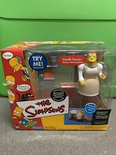 Playmates Simpsons Wos Springfield Elementary Cafeteria Figurine Playset