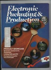 Electronic Packaging & Production - Cahners Publication  November 1986 CAD & ATE