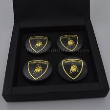 Genuine Lamborghini Gallardo Centre Wheel Caps Collectors Set Boxed#R1400107 New