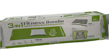 Nintendo Wii Dreamgear 3-in-1 Fit Fitness bundle accessories - never used
