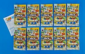 The Trash Pack Trading Cards Series 2 The Toilet Splash 10X Packs New Sealed