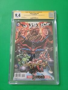 Justice League #50 🦇 CGC SS 9.4 3X Johns Fabok Anderson 1st 3 Jokers 🔥