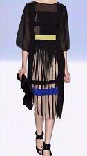 BCBG MAXAZRIA RUNWAY CINTIA BLACK PLEATED DRESS SIZE XS $488-RackT/69