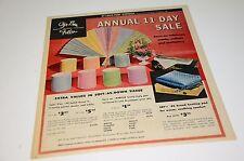 1961 St Louis Stix Baer & Fuller Sale Catalog Newspaper Insert Christmas
