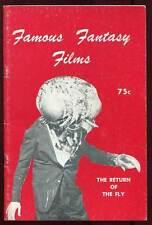 REVUE FAMOUS FANTASY FILMS VOLUME 1 N°1. EN ANGLAIS. 1965.