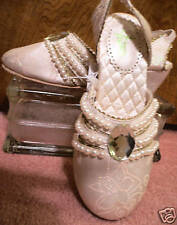 PRINCESS TIANA~WEDDING~Costume~SHOES~13/1~the Frog~NWT~Disney Store~2009