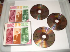 SOUNDS OF THE SIXTIES-1960-TIMELESS TRACKS FROM A GOLDEN ERA-3 cd-63 TRACKS-1997