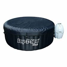 Bestway Lay-Z-Spa Miami Inflatable Hot Tub Jacuzzi Spa - Black