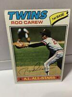 1977 Topps Rod Carew #120 HOF Minnesota Twins Nice Vintage Baseball Card⚾️