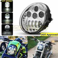 Motorcycle DOT LED Headlight Multi Projector For Harley Street Rod V-ROD VRSC