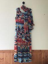 Mr. Max Maxi Dress- 3X Plus size, Multi color
