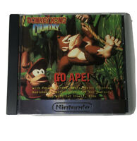 Donkey Kong Country Snes Go Ape! Audio CD Nintendo 1994 limited edition