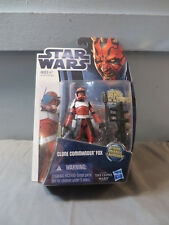 Hasbro Star Wars The Clone Wars Clone Commander Fox MOC Action Figure CW18