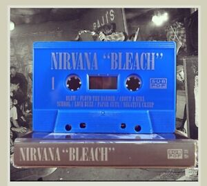 NIRVANA - Bleach [Tapehead City exclusive] - BRAND NEW CASSETTE TAPE Unopened